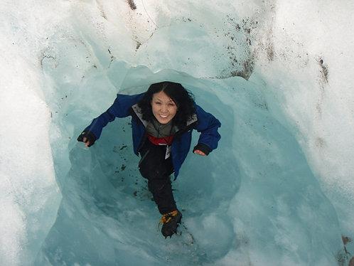 프렌즈요셉 빙하트랙킹 헬기로올라가서 온천으로끝