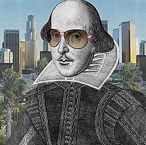 William Shakepeare modern painting sunglasses urban
