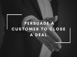 How to convince & pursuade customer to buy