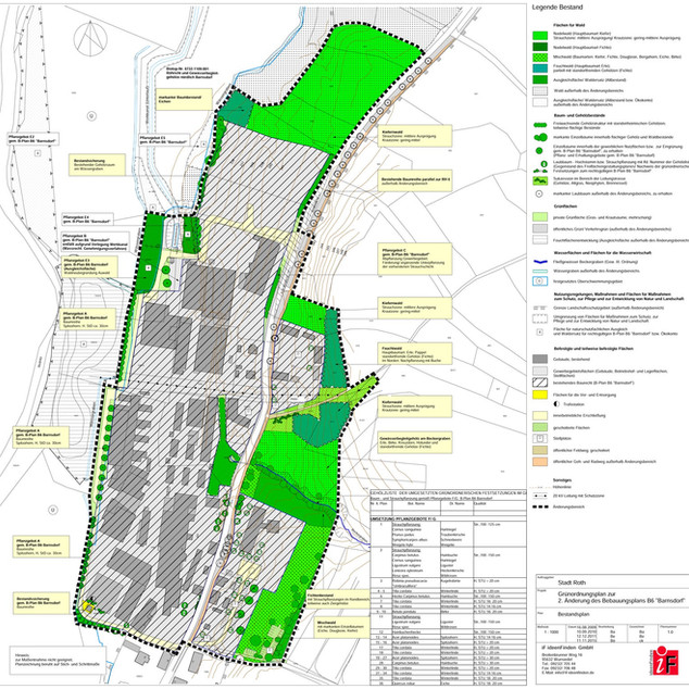 B-Plan Barnsdorf Stadt Roth