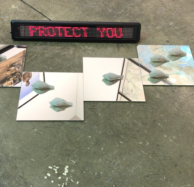 Jean-Ulrick DÉSERT Your silence will not protect you, 2019