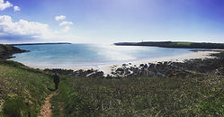 Closest Beach to Eco Campsite, Pembrokeshire