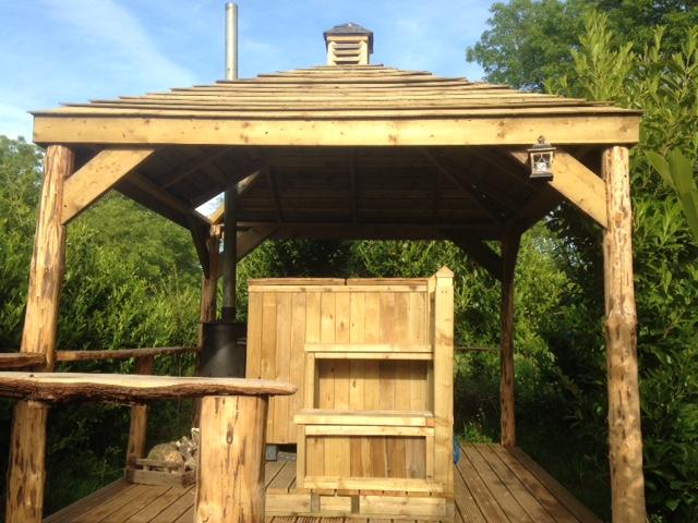 ... Woodland Apple wood Tent ... & Woodland Apple wood Tent | Eco-escape Glamping | Pembrokeshire ...
