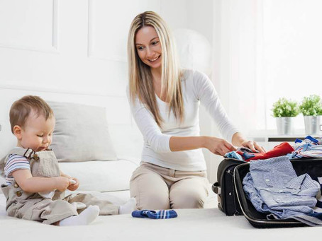 Top tips for packing to go camping with toddlers and young children