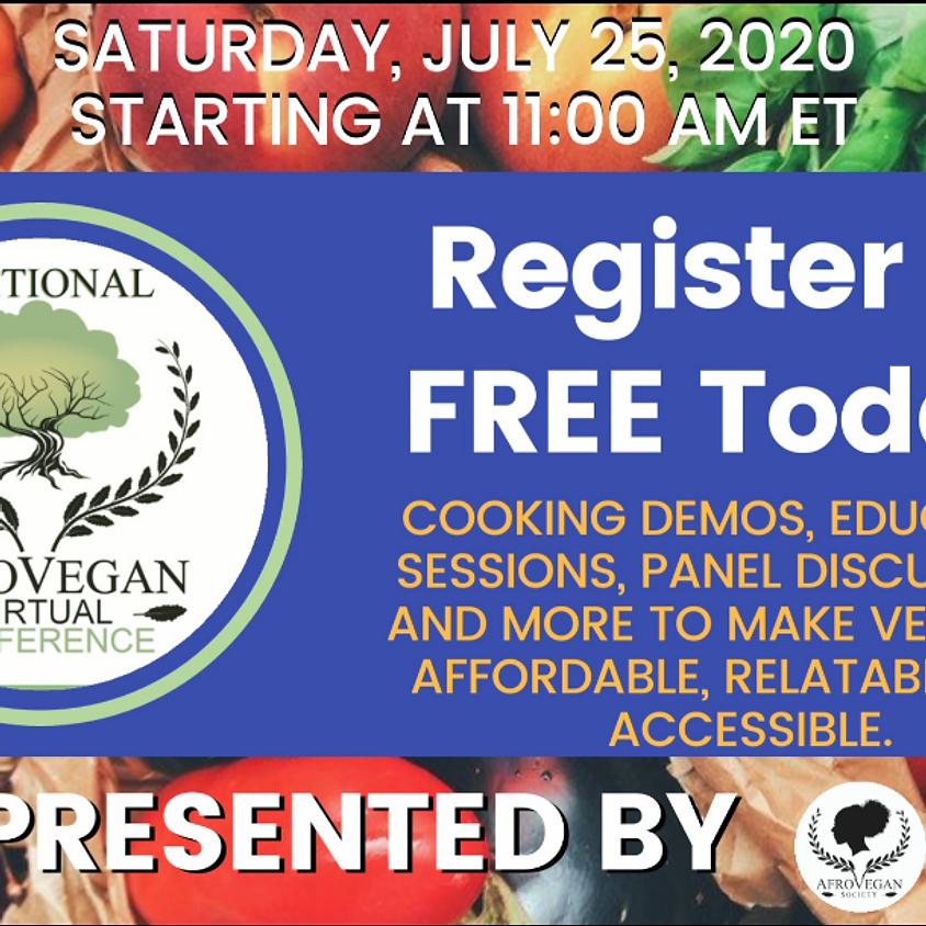 National AfroVegan *Virtual* Conference
