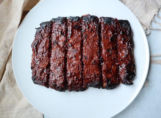 Baked Vegan Ribs