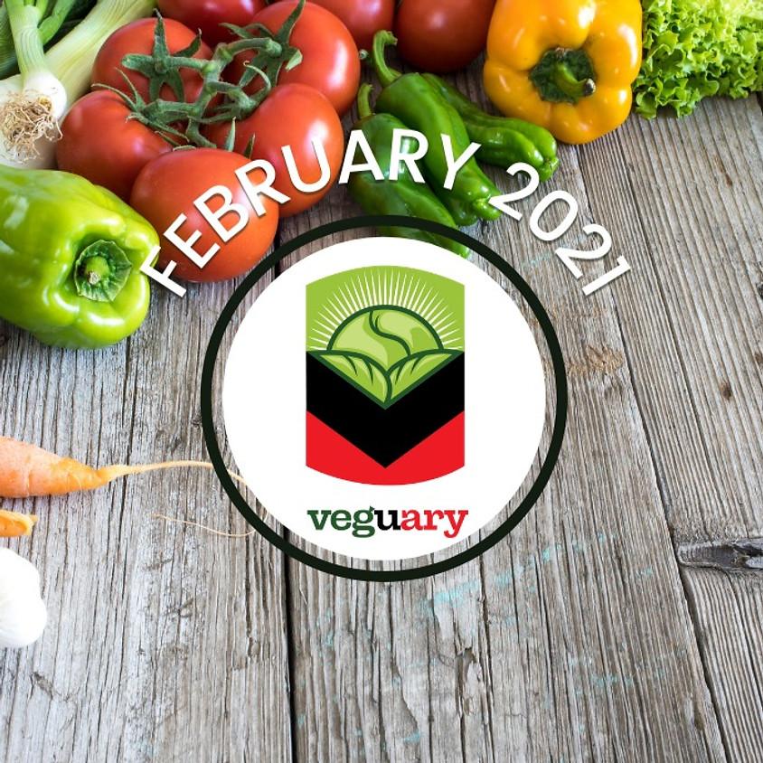 VEGUARY: February Vegan Pledge