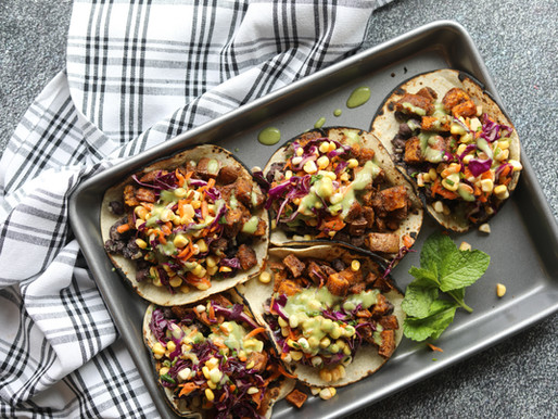 Tandoori Spiced Sweet Potato Tacos