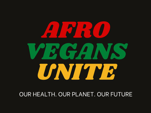 AFRO VEGANS UNITE - Check Out Our New Merch!