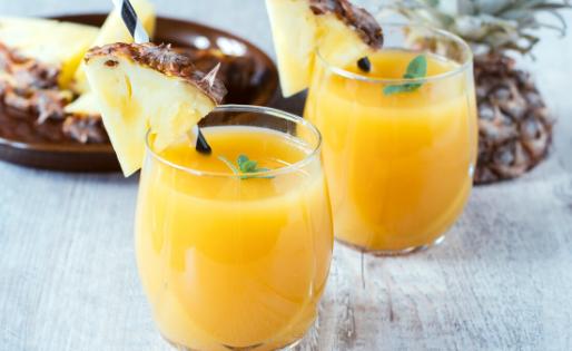 Summertime Pineapple Juice Blend