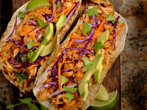 King  Zoom's Jamaican Jerk Jackfruit Tacos