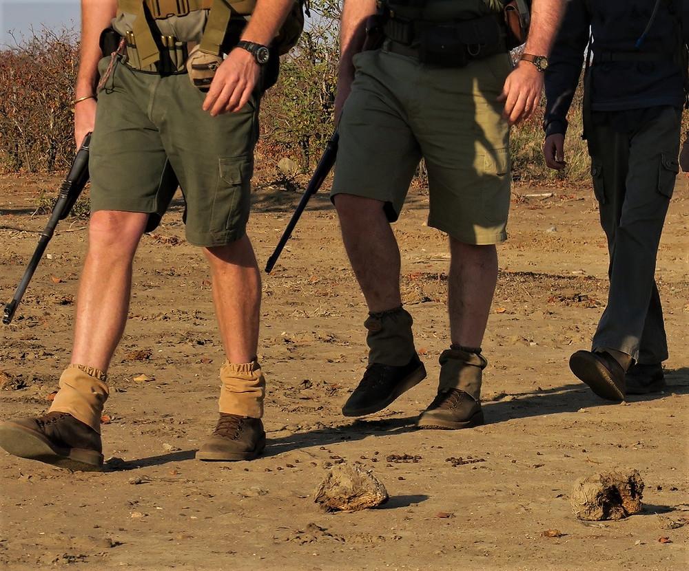 gaiters, walking safari, walking safaris, kruger park walking safari, african safari, luxury safari, tailor made safari