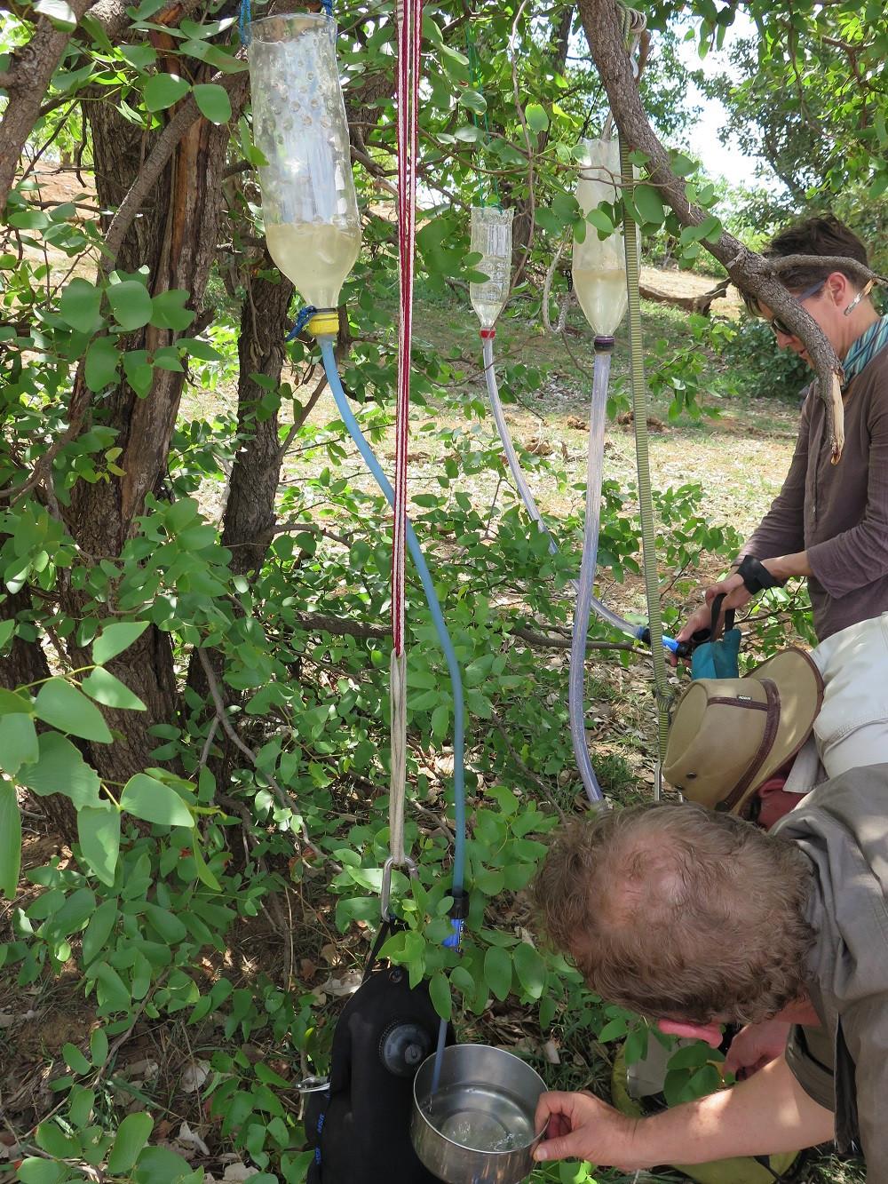 water filtration, walking safari, walking safaris, kruger park walking safari, african safari, luxury safari, tailor made safari
