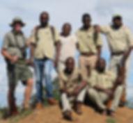 Training walking safari guides in the Kruger National Park