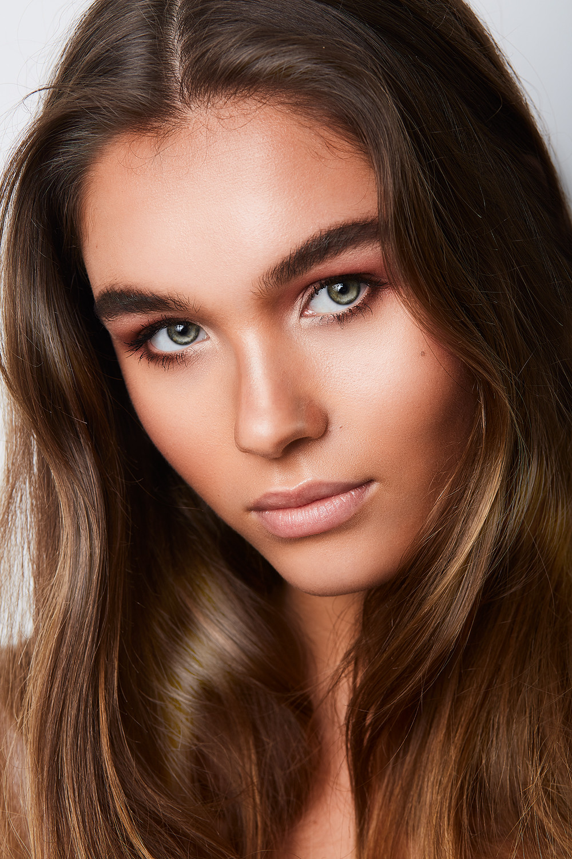 Leichtes Tages-Make-Up
