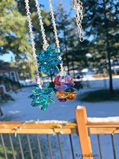 Beautiful Butterfly or Star Dancing Rainbow Suncatchers to Hang in Your Home