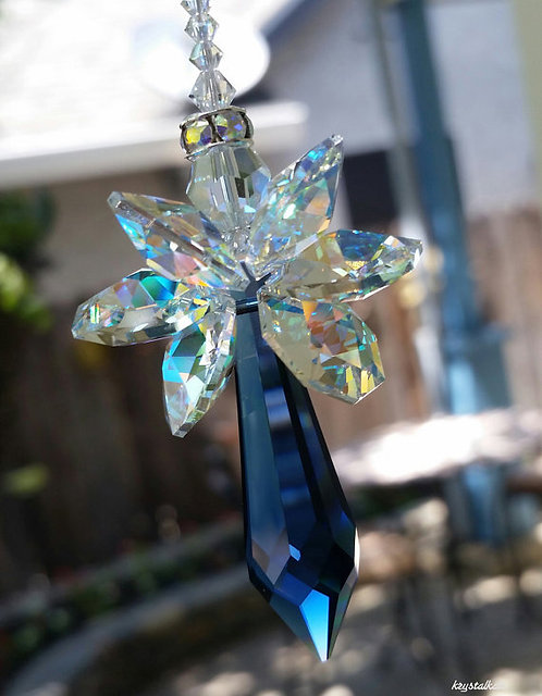 Guardian Baby Rainbow Baby Uriel Window Crystal Car Charm Suncatcher