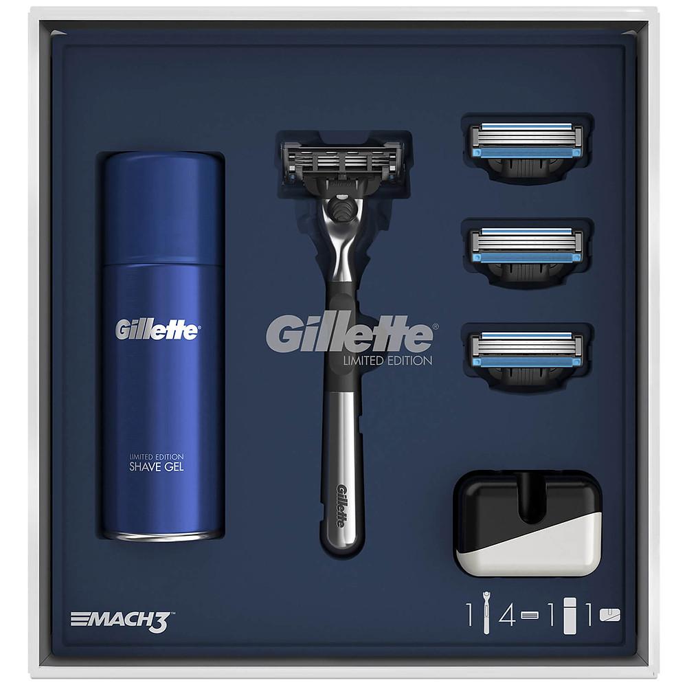 Limited Edition Gillette Razor Gift Set