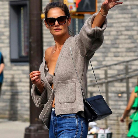 5 Cashmere Bras We Love: The Viral Katie Holmes Cashmere Bra Moment