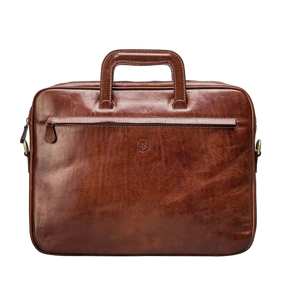 Men's Italian Leather Document Bag