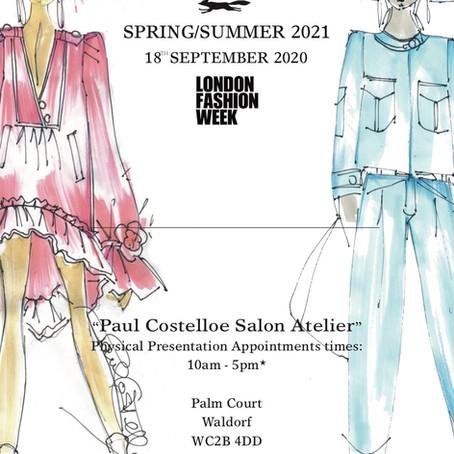 "Paul Costelloe ""Golden Reflections"" SS21 London Fashion Week Presentation"