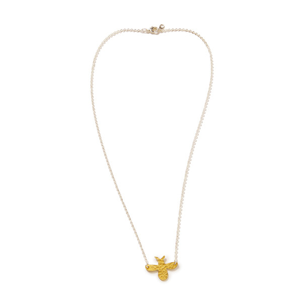 Mother's Day Gift Guide: Oxfam Brass Bee Pendant Necklace