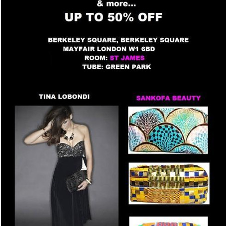 Kay Flawless Fashion Pop Up Sample Sale in Mayfair, Saturday 3rd September 2011!!! (09h00-17h00)