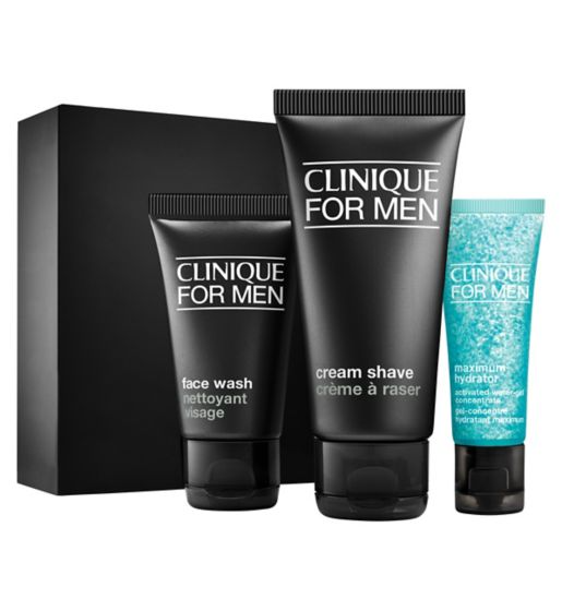 Valentine's day gift idea for him: Clinique For Men Starter Kit Daily Intense Hydration