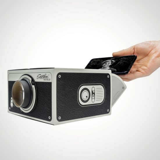 Valentine's Day gift idea for him: smartphone projector