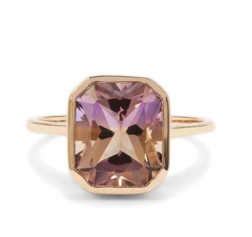 Gemporia Anahi Ametrine 9K Gold Ring