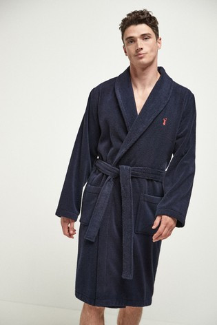 Valentine's day gift idea for him: Towelling Dressing Gown