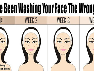 WASHING YOUR SKIN PROPERLY