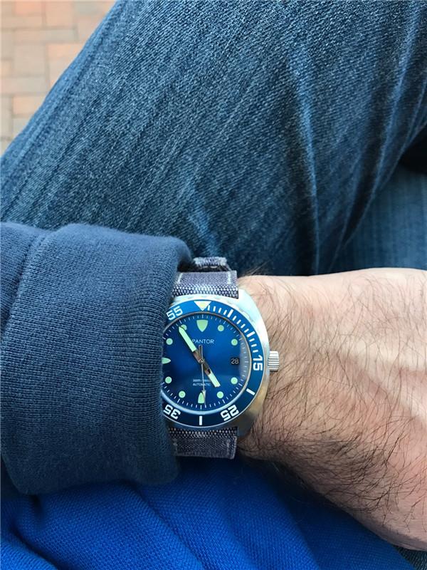Pantor Sealion dive watch