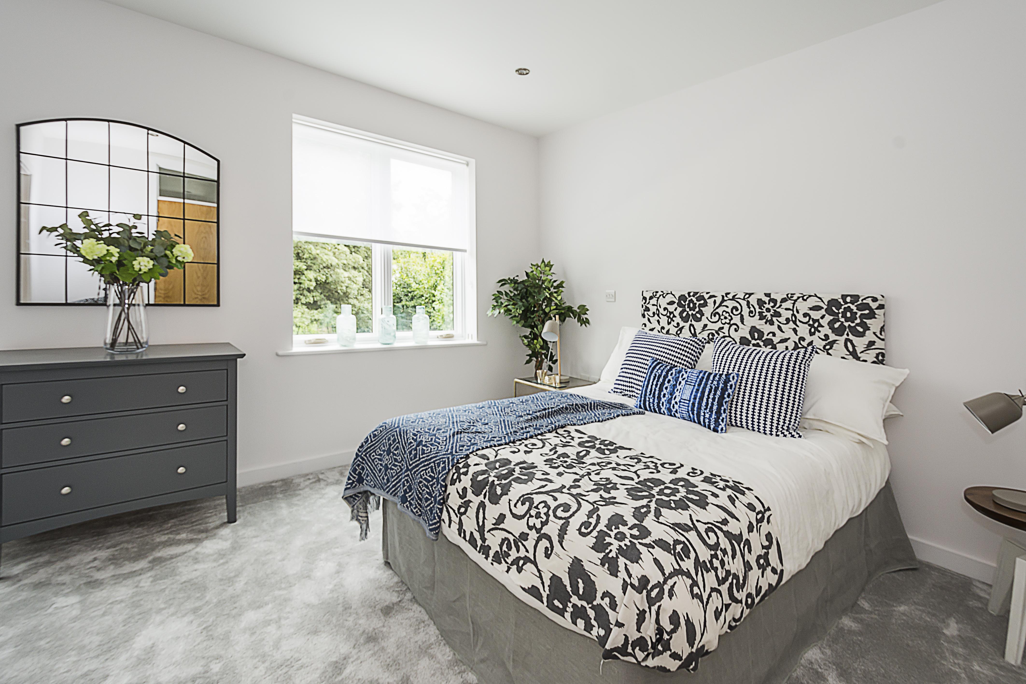 Hutton Mews bedroom