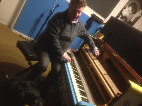 Piano Tuning Underway