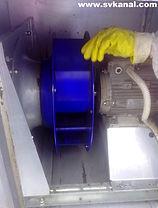 Вентилятор после очистки