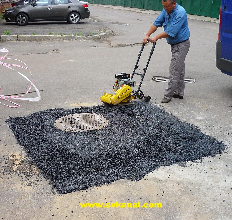 Ремонт сети канализации