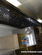 Компания СпецВодоКанал проводит очистку вытяжных зонтов вентиляции.