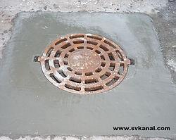 Ремонт колодца ливневой канализации