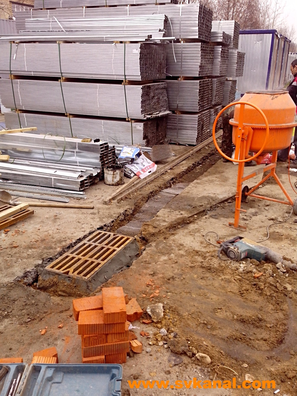 Ремонт канализационной сети