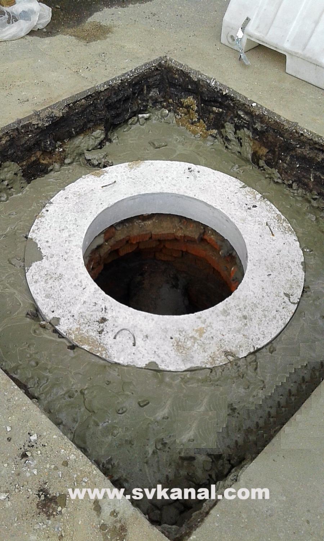 Ремонт колодцев канализации