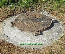 СпецВодоКанал предлагает услуги: замена канализационного люка с обечайкой; поднятие горловины колодца; замена кирпичной кладки; оштукатуривание  стенок колодца; замена бетонных колец.