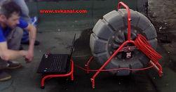 СпецВодКанал проводит работы по видеодиагностике канализации с использованием профессионального оборудования: цветной видеодиагностический комплекс Ridgid See Snake.