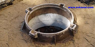 СпецВодоКанал Ремонт колодцев канализации. Перекладка трубопровода канализции.