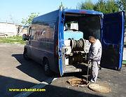 Гидродинамическая промывка канализации сотрудниками СпецВодоКанал
