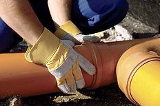 СпецВодоКанал предлагает услуги по диагностике и текущему ремонту участков канализационной сети.