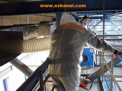 Очистка вентиляции предприятий