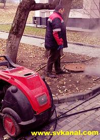 СпецВодоКанал Термохимическая очистка трубопровода внутренней канализации.