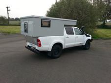 Minicamp auf Toyota Hilux