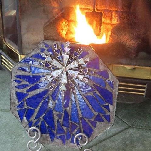 Blue Ice Garden Stone